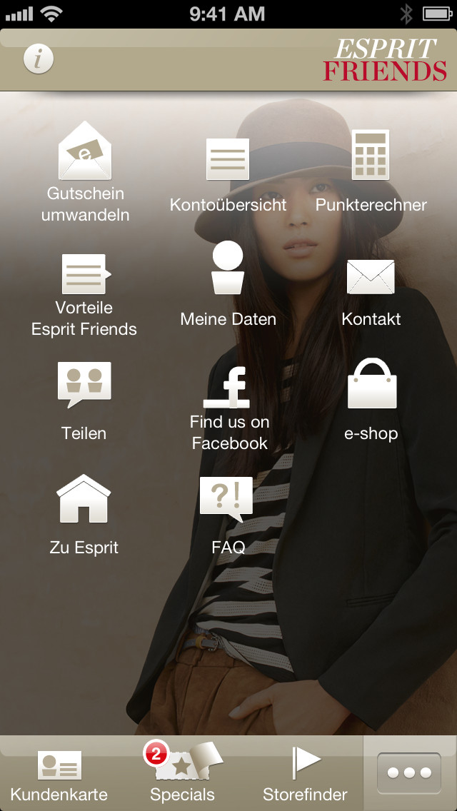 Esprit Friends App